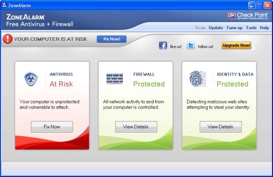 antivirus firewall gratis