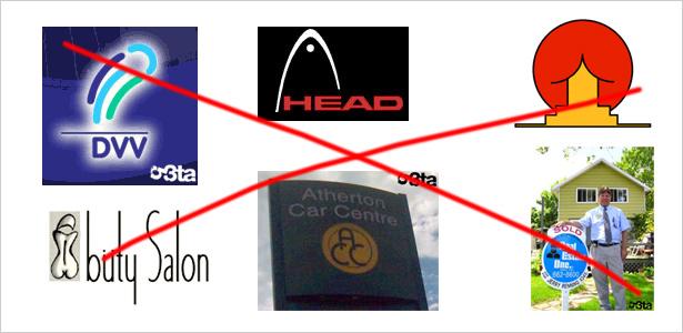 Errores comunes al diseñar un logo