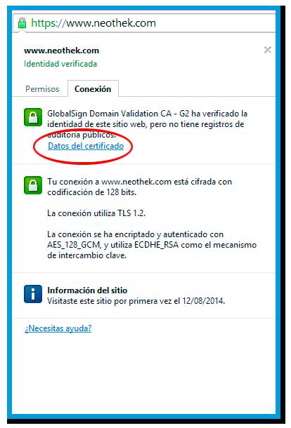 certificado ssl3