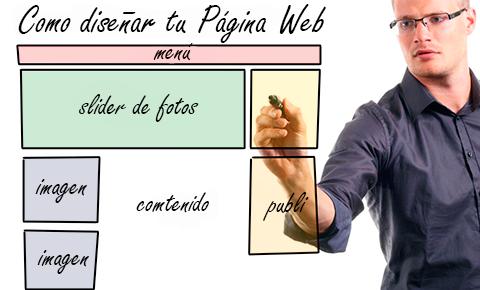 Consejos para diseñar tu sitio web profesionalmente