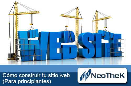 Cómo comenzar a construir tu sitio web
