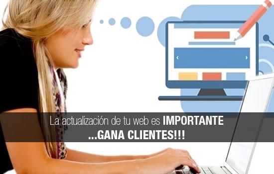 ¿Por qué es importante actualizar tu sitio web?