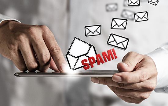 ¿Qué es spam mediante correo electrónico?