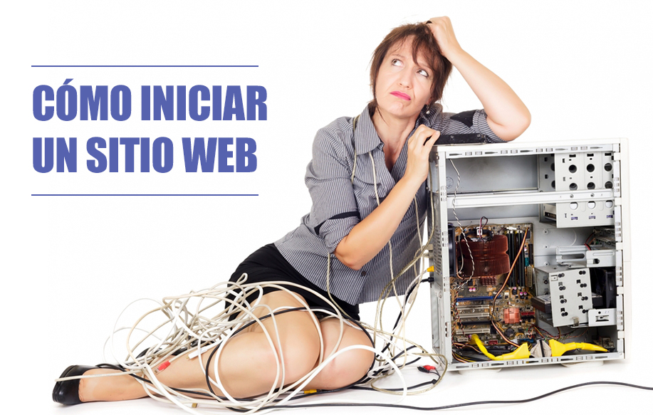 Cómo iniciar un sitio web