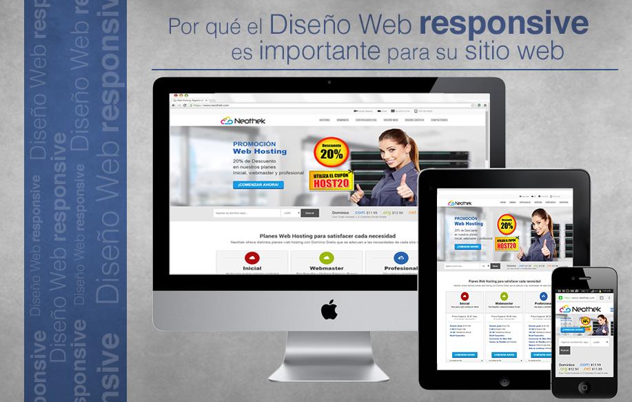 ¿Por qué el Diseño Web Responsive es importante para tu sitio de negocio online?