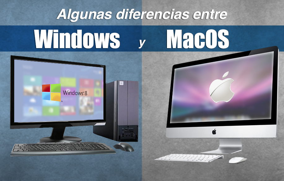 Diferencias entre MacOS y Windows