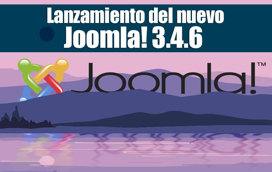 Lanzamiento del nuevo Joomla 364