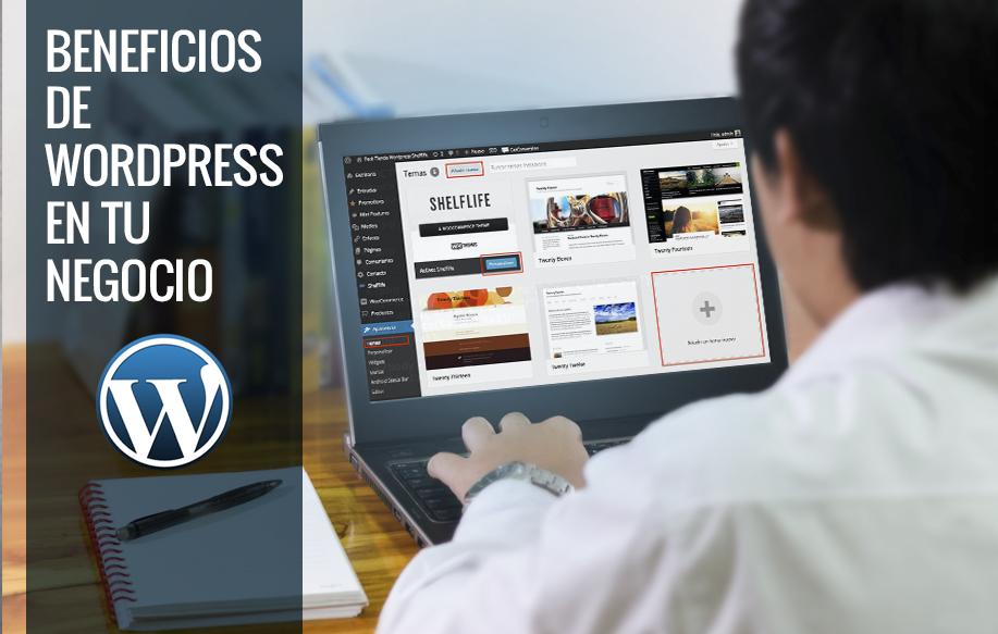 4Beneficios de wordpress en tu negocio