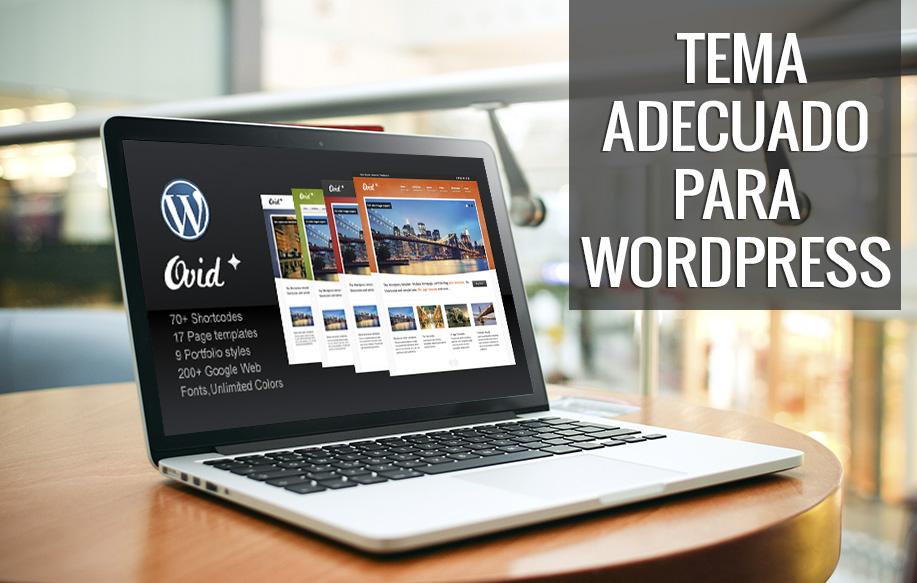 Cómo encontrar el tema (theme) adecuado para WordPress ? | El blog ...
