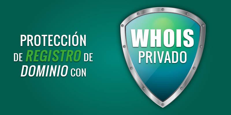 Protección de WHOIS
