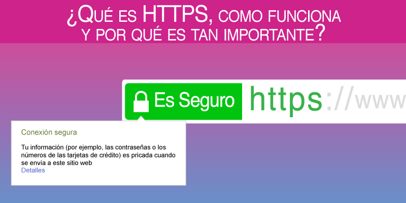 ¿Qué es HTTPS, como funciona y por qué es tan importante?