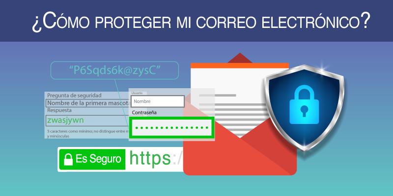 como proteger mi correo electrónico